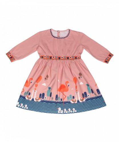 Платье «Фламинго»